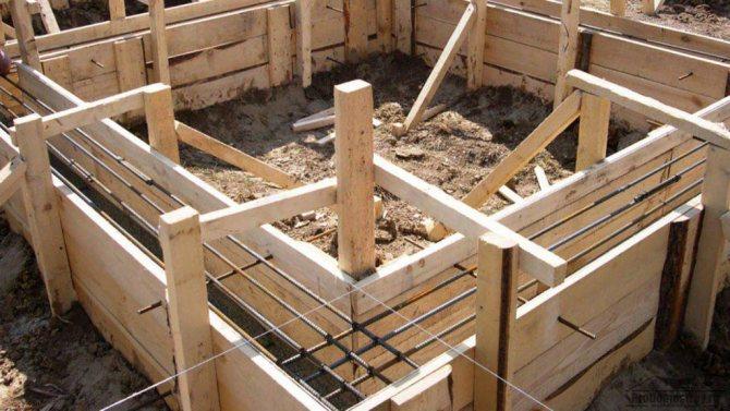 Съемная опалубка очень быстро демонтируется после застывания бетона