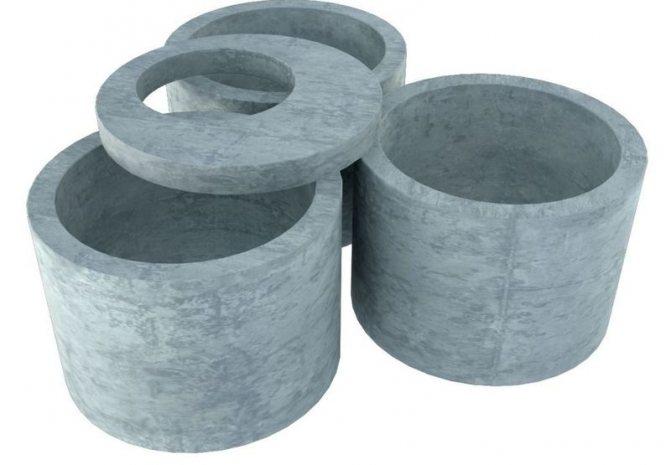 Сфера применения бетонных колец