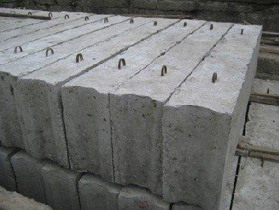 Схема строповки ж/б конструкций фундаментов