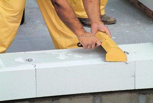 Шпаклевка стен из газобетона без нанесения штукатурки