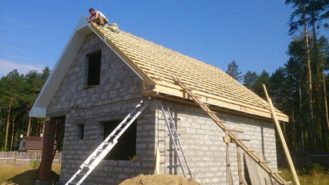 скатные крыши