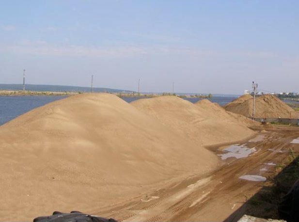 Сколько весит куб песка речного