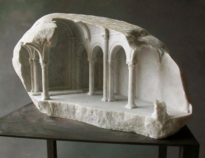 Скульптура из камня изображение 1