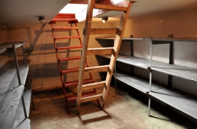 Совмещение смотровой ямы и подвала в гараже