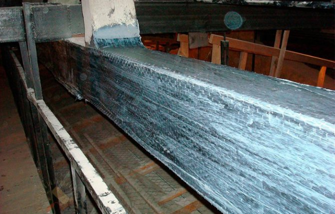 Способы усиления деревянных балок