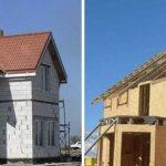 сравнение каркасного дома