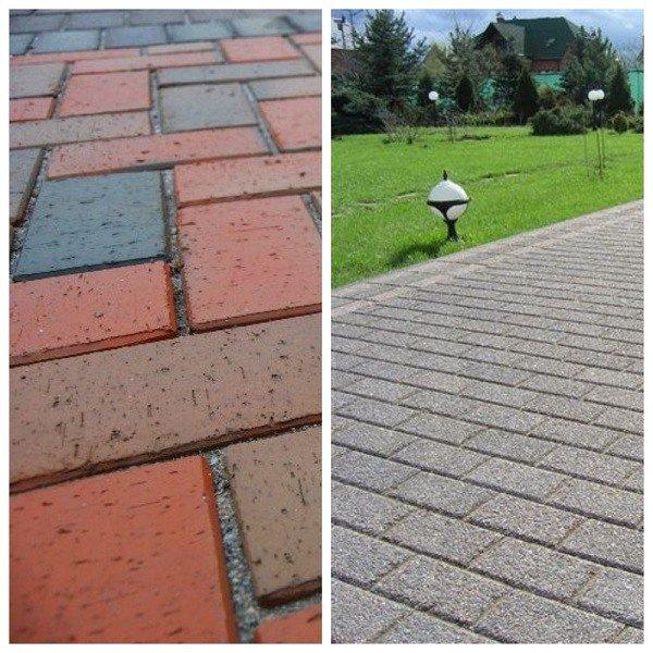 Сравнение клинкерной и бетонной брусчатки