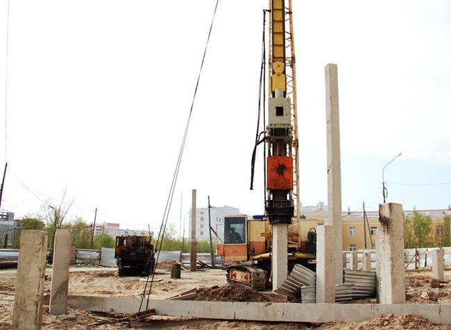 Сроки строительства при использовании железобетонных свай укорачиваются