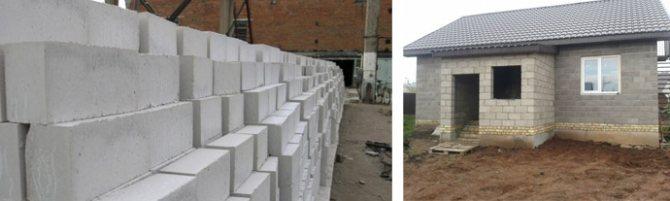 Стоимость строительства пенобетонного дома