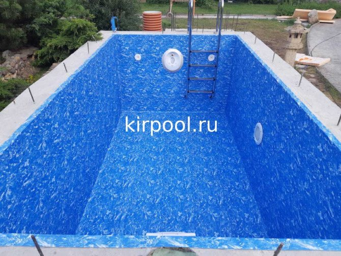 Строительство бассейнов из пенопластовых блоков