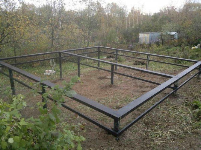 строительство фундамента на глинистой почве