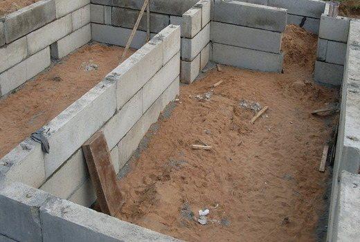 Строительство фундаментной основы