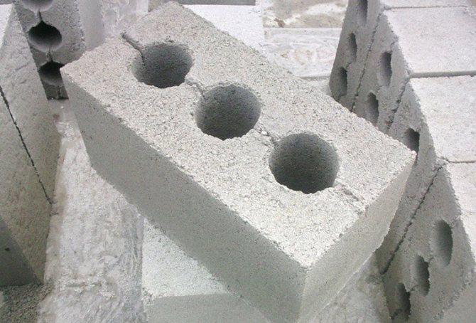 Строительство из шлакоблока