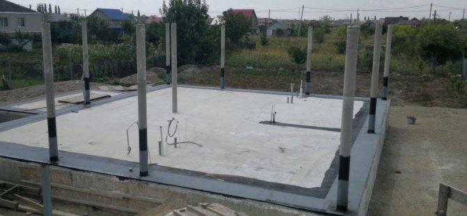 Строительство жб каркаса дома