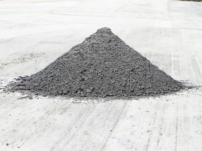 Сухой бетон - плюсы и минусы