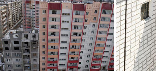 Температурный шов при строительстве зданий из панелей