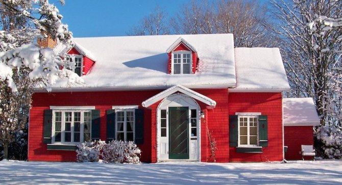 Тепло в доме напярямую зависит от коэффициента теплопроводности строительных материалов