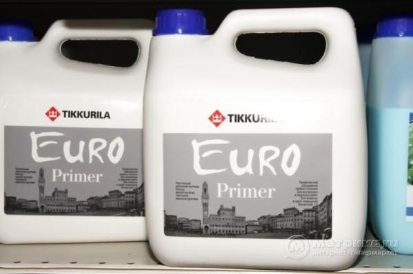 Тиккурила - известная марка, производящая качественную грунтовку
