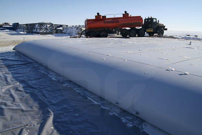 Типы резервуаров для хранения нефти