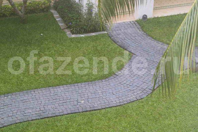 Тротуарная плитка своими руками: советы по изготовлению