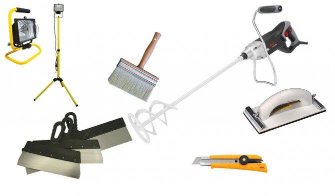 вариант использования шпаклевки стен под обои в ремонте дома