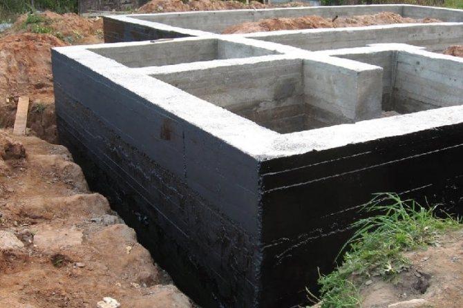 Вертикальная гидроизоляция фундамента