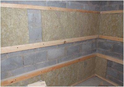 внутренняя отделка бани из керамзитобетонных блоков своими руками