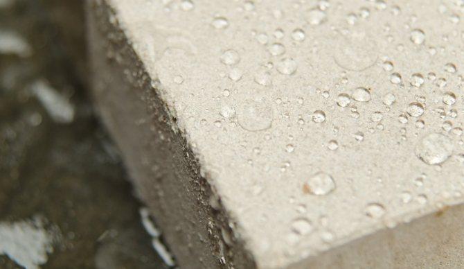 Вода и бетон