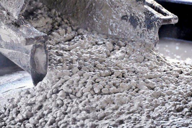 водостойкий бетон