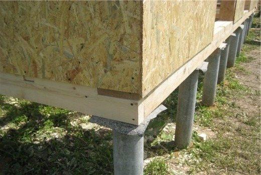 Возможность для ремонта или замены столбов