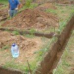 Возведение фундамента на глинистой почве