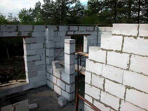 Выбираем толщину несущих стен