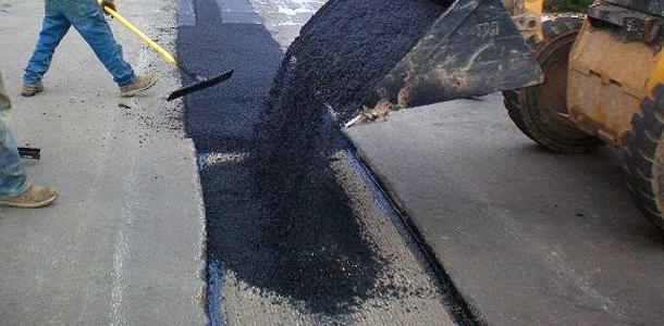 ямочный ремонт дорожного покрытия технология