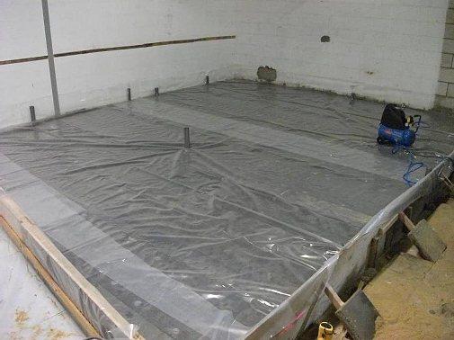Защищаем бетон после заливки от трещин