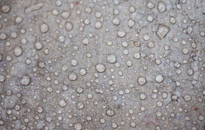 защита от воды бетонного фундамента