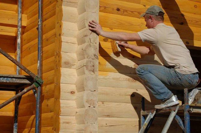 Защитные свойства морилок незаменимы при отделке деревянных фасадов